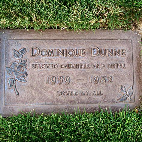 Dominique Dunne Grave