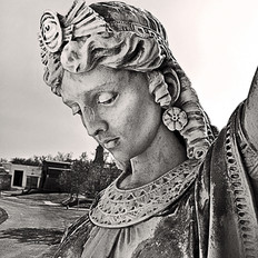 Brunswig Mausoleum Egyptian Lady