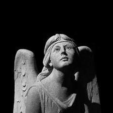 Angel Gazing Up
