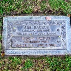 Jim Backus Grave