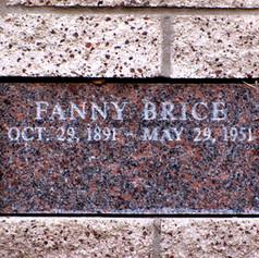 Fanny Brice Grave