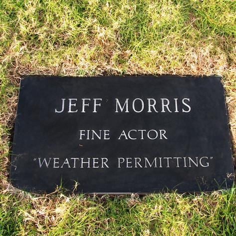 Jeff Morris Grave