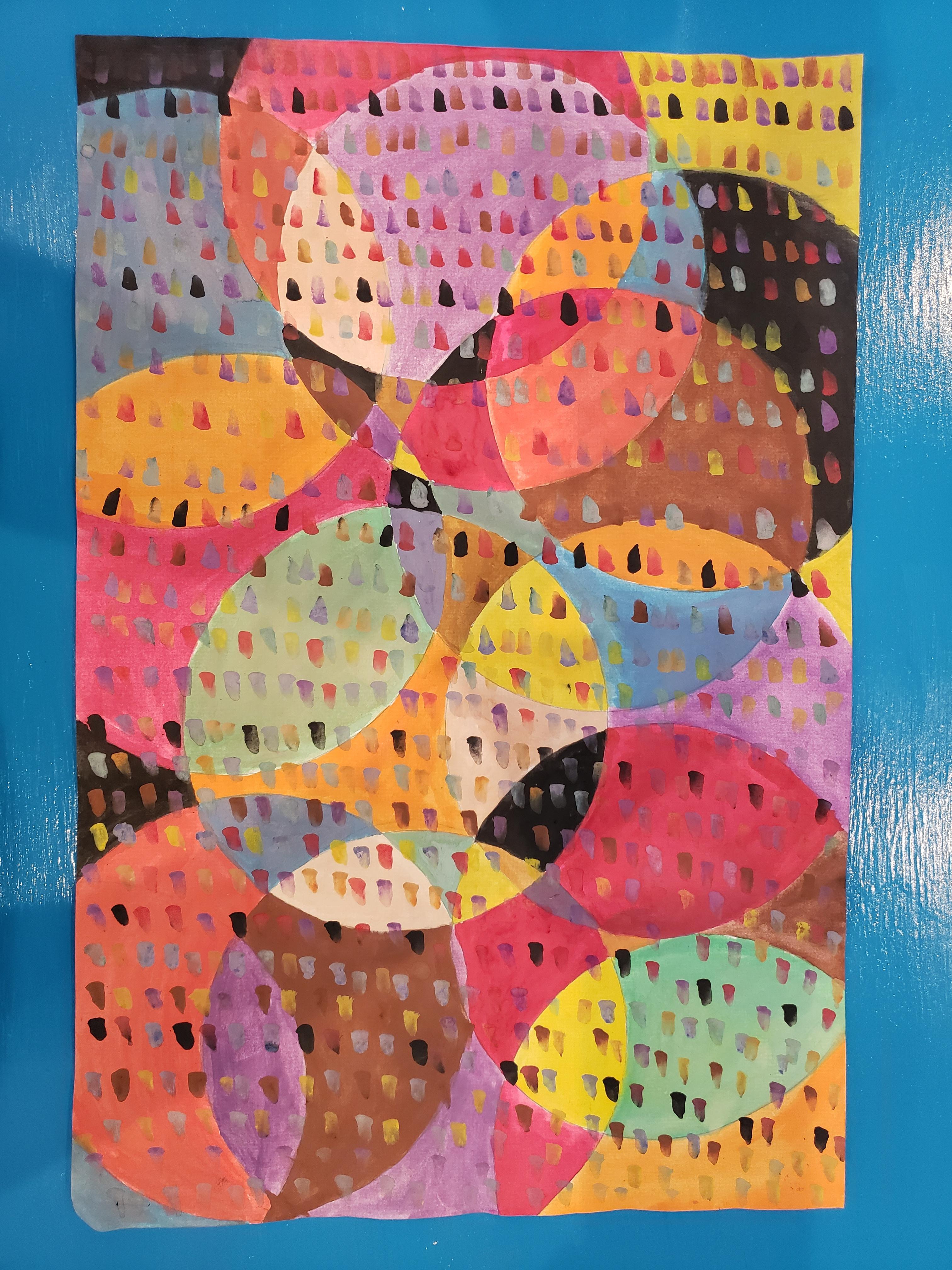 Art for grades 6-8, Tuesdays 7PM