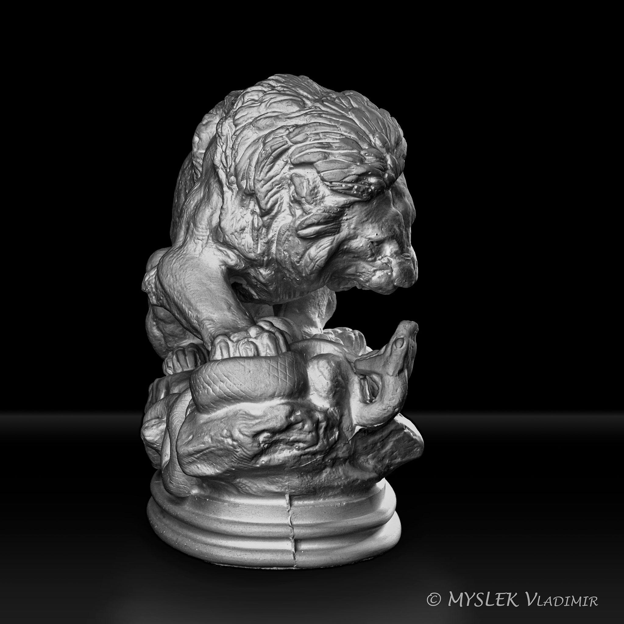 Lion au Serpent Antoine BARYE 3707