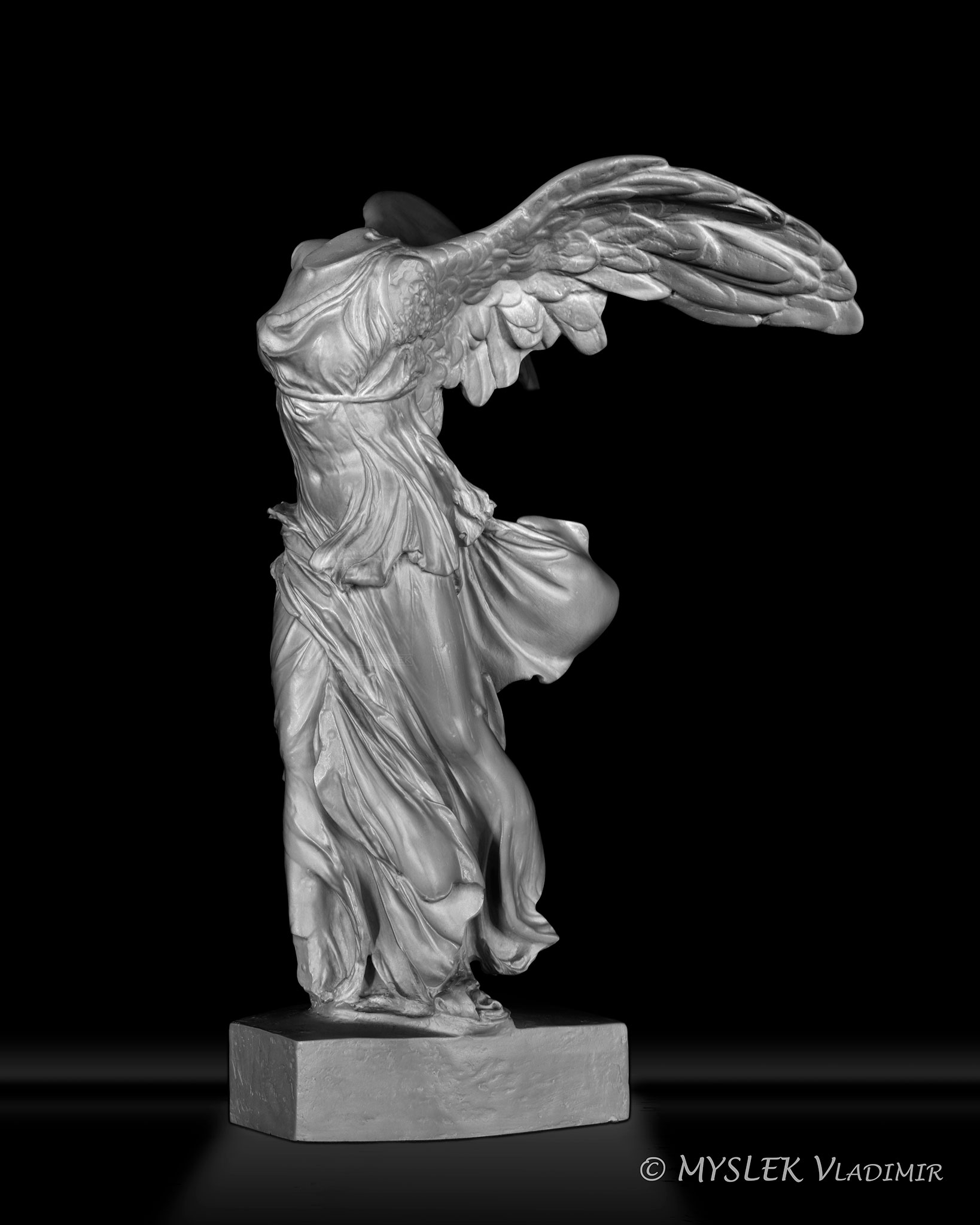 Reproduction Victoire de Samothrace 3760
