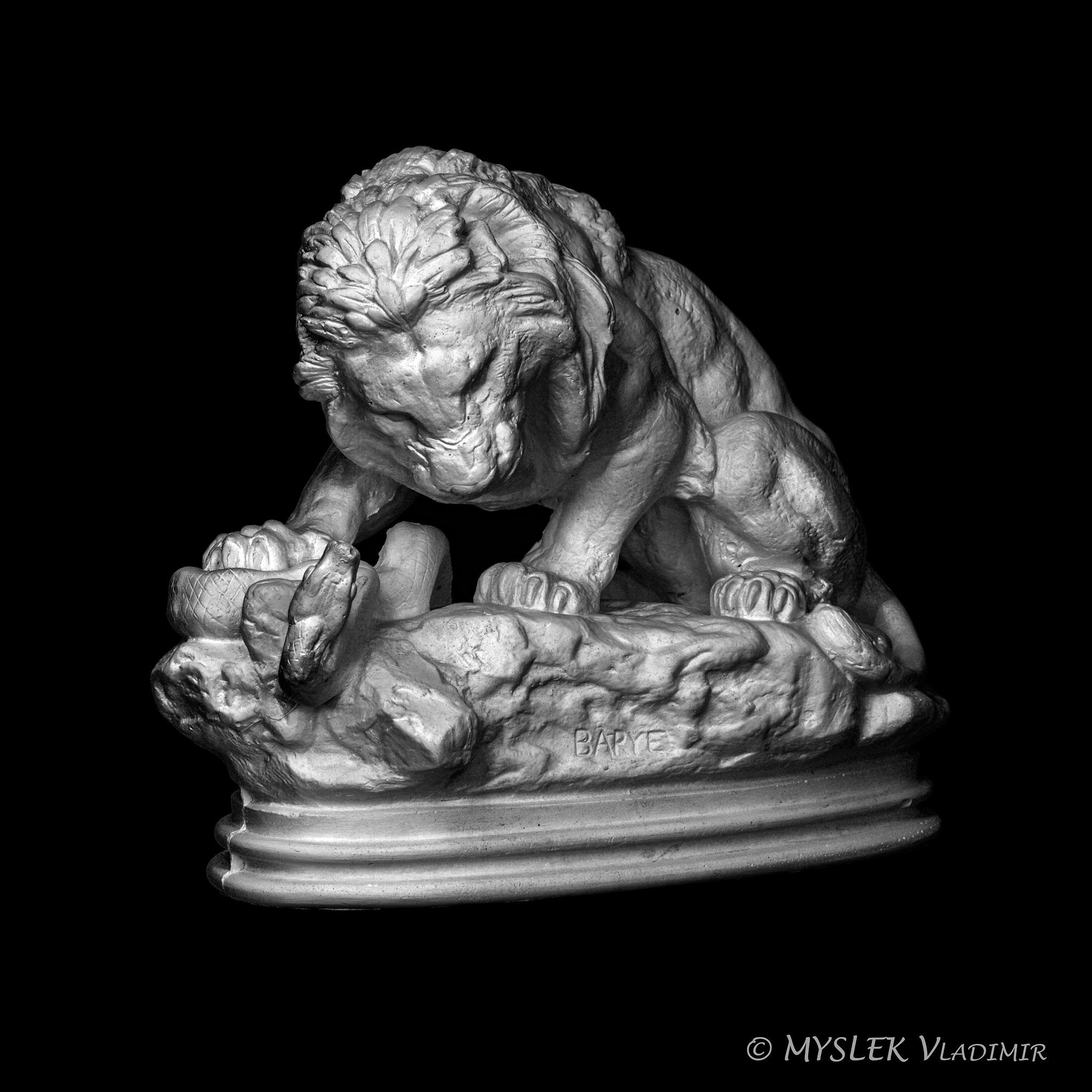 Lion au Serpent Antoine BARYE 3676