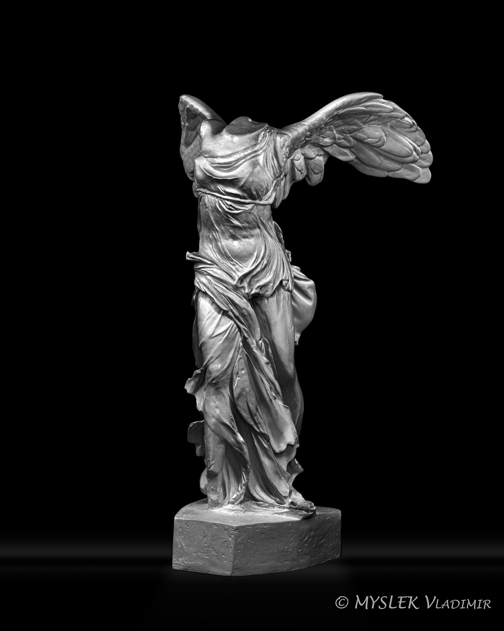 Reproduction Victoire de Samothrace - 3748