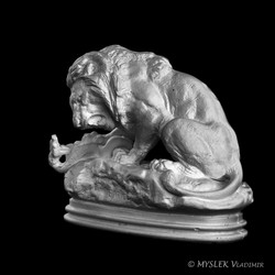 Lion au Serpent Antoine BARYE 3700