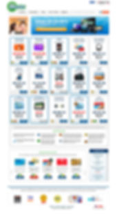 BidCactus website redesign full view