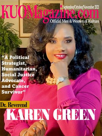 Sept.-Oct.-Nov. 2021 - Cover Featuring Dr. Karen R. Green.jpg