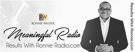 Results with Ronnie Radio - Meaningful R