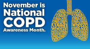 November - National COPD Awareness Month