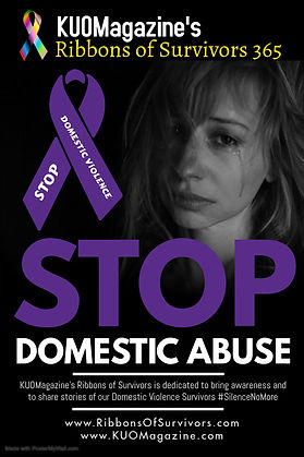 Ribbons of Survivors Domestic Abuse Awar