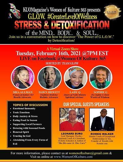 Feb. 16th 2021- Stress & Detoxification