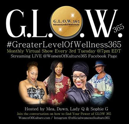 Women of Kulture 365 GLOW 365 Show Banne