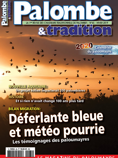 Palombe&tradition N°65