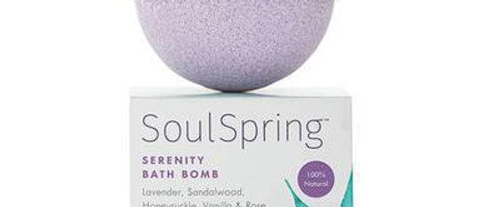 SoulSpring - CBD Bath - Serenity Bath Bomb - 75mg