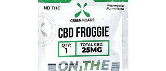 Green Roads - CBD Edible - Froggies OTG - 25mg