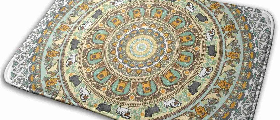 Soft Non-Slip Mat Rug Carpet Cushion Pug Yoga Mandala Namaste Gym Meditaion
