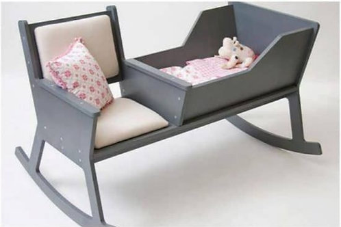 Rocking Chair & Cot Combo
