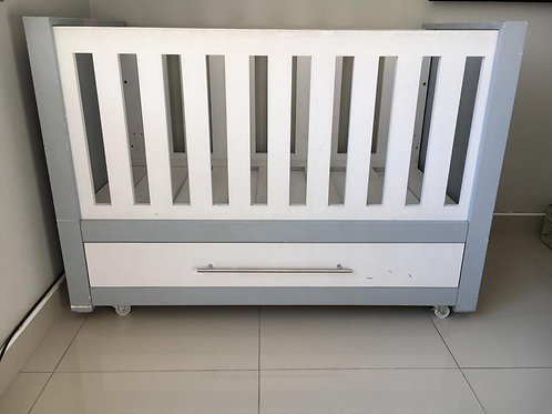 Large Wooden Baby Cot