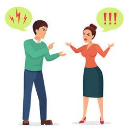 cartoon-man-and-woman-quarreling-angry-c
