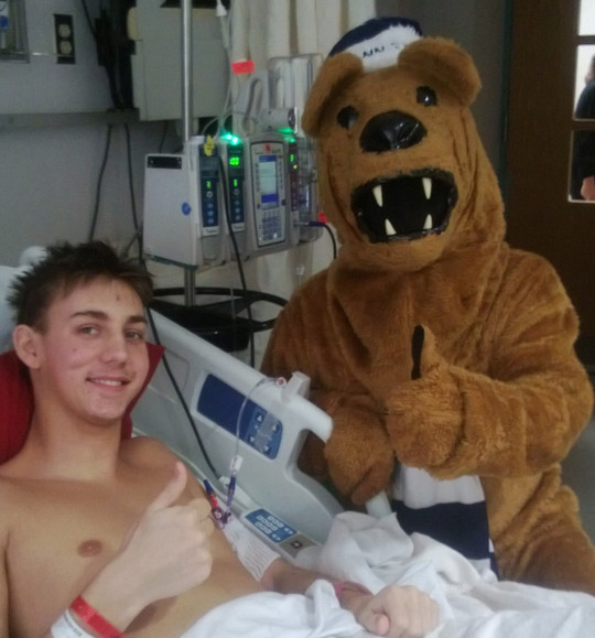 PSU Nittany Lion visits Brandon on day 2 of this nightmare.