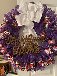 So Good to be Home Wreath