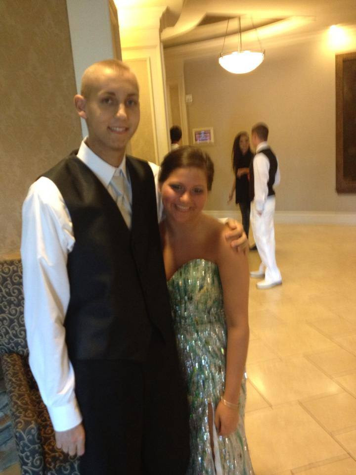 Brandon gets a 4 hour leave from the children's hospital to attend his senior high school prom.