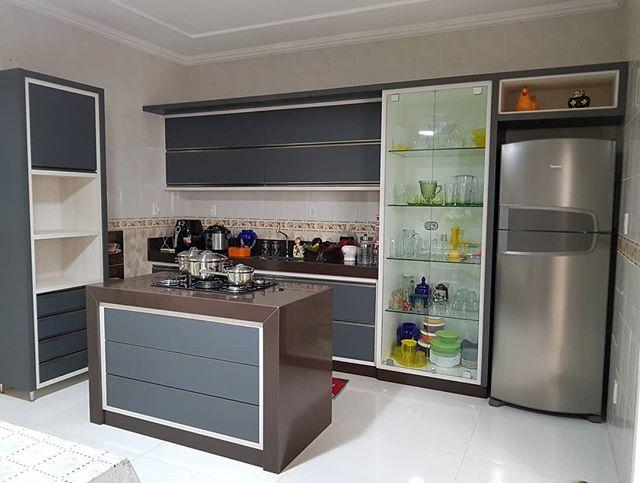 Mais uma cozinha finalizada! 🙏🏼👏👏_#m