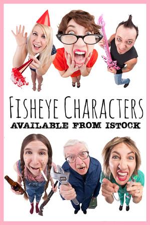 Fisheye Characters by Sharon Dominick Photography