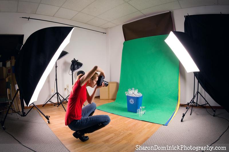 Stock Photographer in the Studio