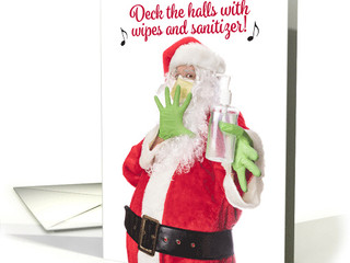 Are you looking for Covid-19 themed Christmas cards and holiday products?