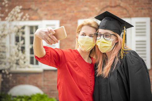 Coronavirus Pandemic Graduation