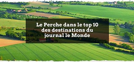 le Perche dans le top 10 des destinations du journal le Monde