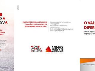 Prêmio irá reconhecer empresas que desenvolvem práticas inclusivas em Minas Gerais