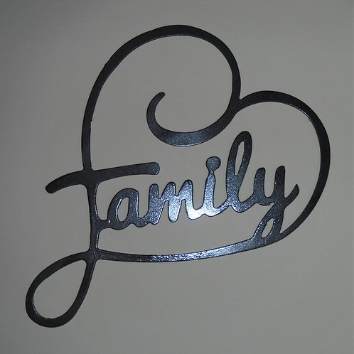 Family Heart Wall Hanging