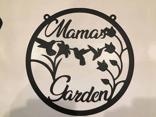 Mama's Garden Wreath