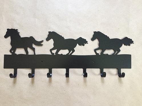 Horses Running Keyholder