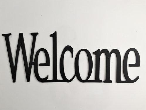 Welcome standard print (horizontal)