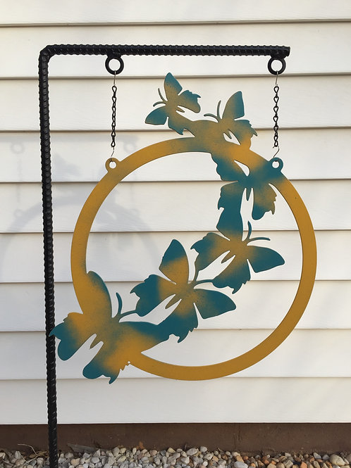 Fly Butterfly Garden Flag (Pole sold separately)