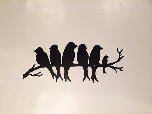 Birds on a Branch (Six)