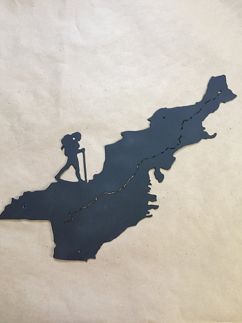 Appalachian Trail Female Hiker