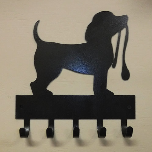 Puppy with Leash Keyholder