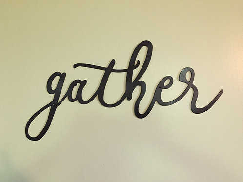 """gather"" cursive font lower case letters"