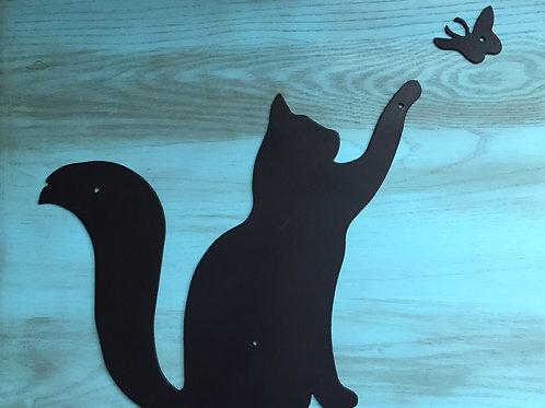 """Butterfly Curiosity"" Cat"