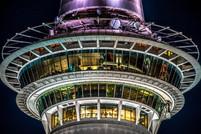 Night Sky Tower by Roumen Ivanov
