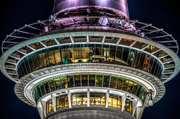 Night Sky Tower by Roumen Ivanov