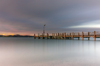 Maraetai Jetty by Bridget Sloane