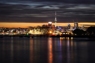 Love Affair with Auckland by Linda Quach